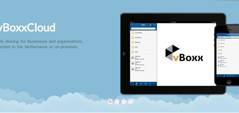 vBoxxCloud - Secure File Sharing for Business