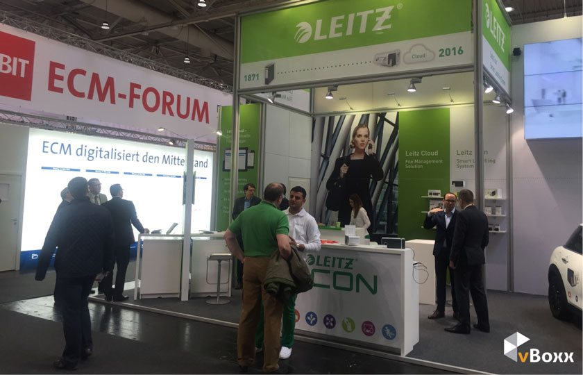 Introducing Leitz Cloud by vBoxx at CeBIT