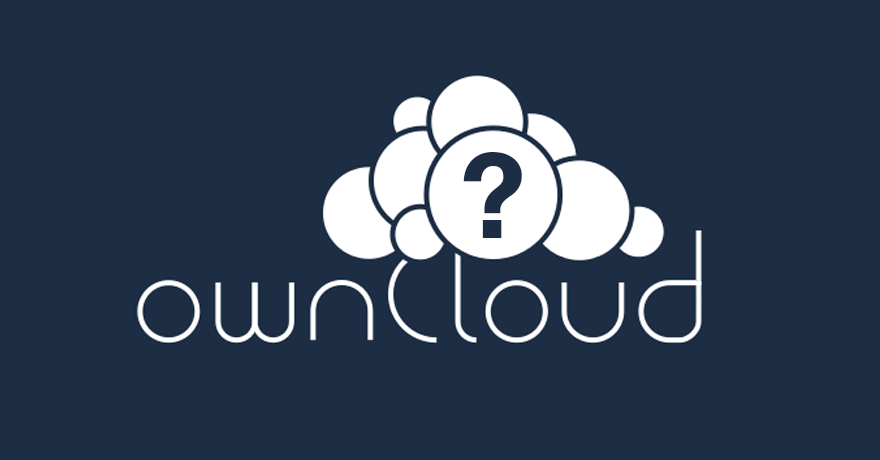 The curious case of Owncloud