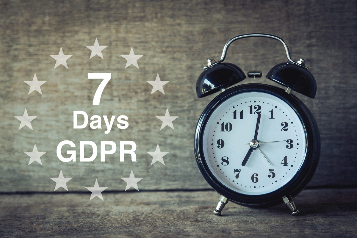 Businesses struggling to meet GDPR deadline