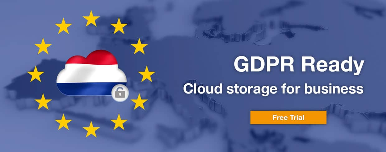 GDPR Ready cloud storage for Businesses